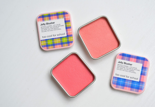Too Cool for School Jelly Blusher Swatches Review