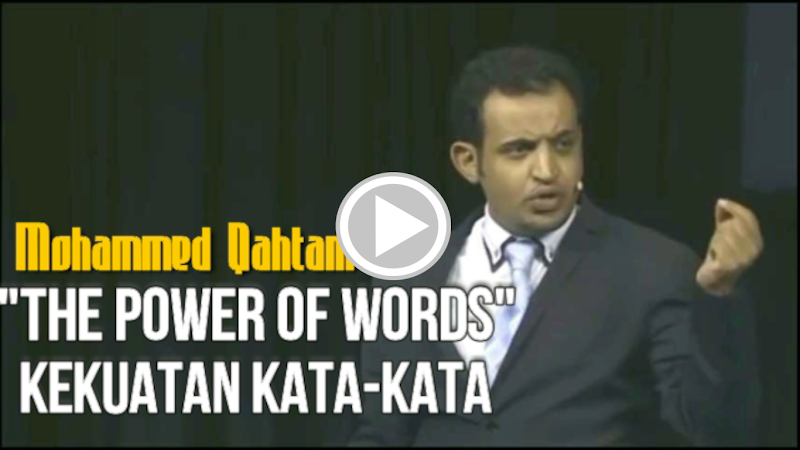 The Power of Words, Kekuatan Kata-Kata