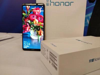 Honor Note 10 dengan Chipset Kirin 970 dan RAM 8GB