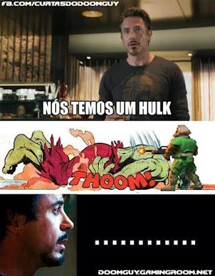 Hulk x Doomguy
