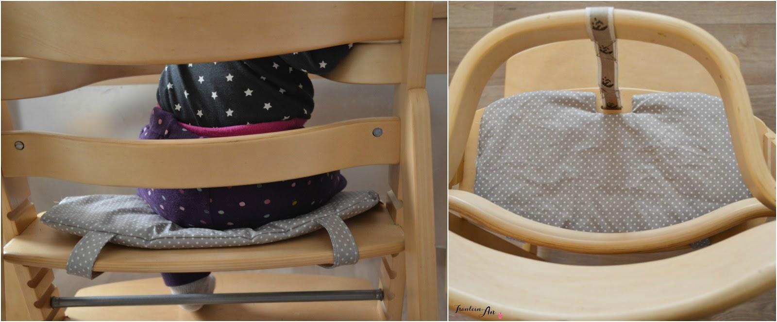 fr ulein an diy sitzkissen f r den kinderhochstuhl. Black Bedroom Furniture Sets. Home Design Ideas