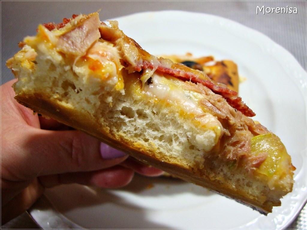 receta masa para pizza con levadura seca