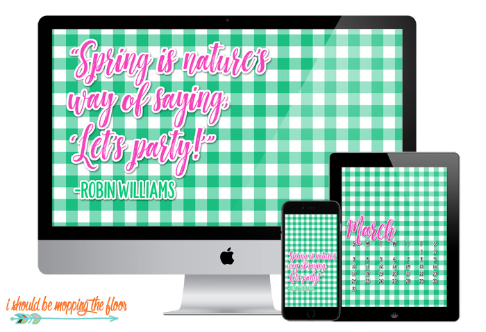 Preppy Desktop Screensaver