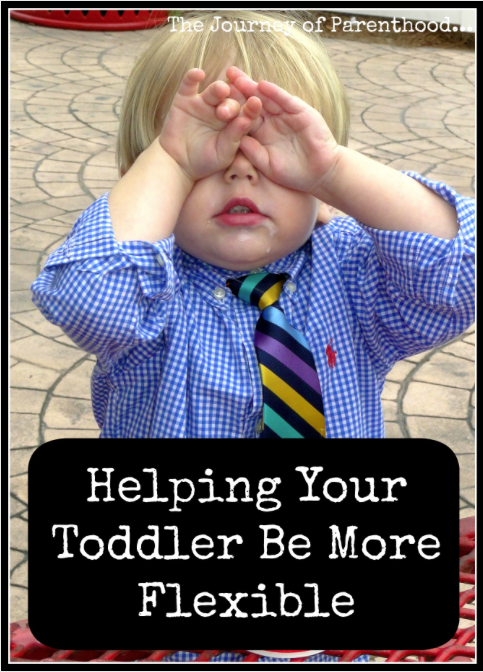Helping Your Toddler Be More Flexible