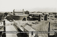 Female Division nearing construction at Boggo Road Gaol, Brisbane, 1903.