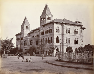 Image result for 1877-NEW POST OFFICE BOMBAY