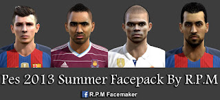 Pes 2013 Summer Facepack By R.P.M