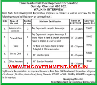 tamilnadu-skill-development-corporation-recruitment-notification-interview-jobs-tngovernmentjobs
