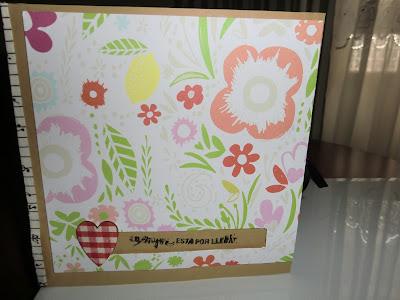 Tarjeta Spinning card en pie