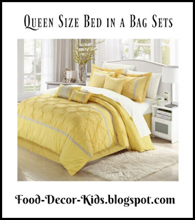 Queen Size Bed in a Bag Sets Queen Comforter Sets