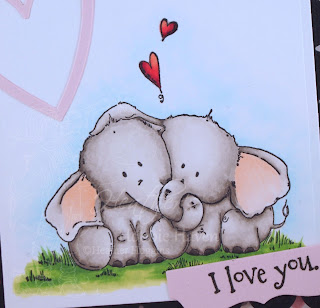 Heather's Hobbie Haven - Ellie Loves Phant Stuffies Card Kit