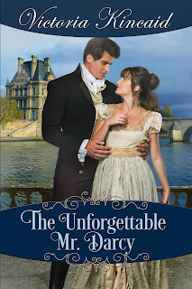 Book cover: The Unforgettable Mr Darcy by Victoria Kincaid