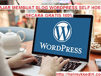 Tutorial membuat blog wordpress selfhosting gratis