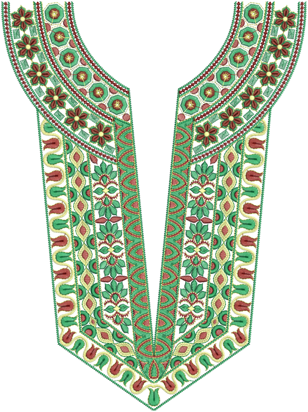 Embroidery Designs  37Dress Nack Designs