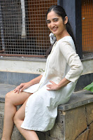 Radhika Cute Young New Actress in White Long Transparent Kurta ~  Exclusive Celebrities Galleries 027.JPG