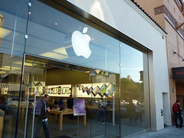 Loja da Apple na Chestnut Street em San Francisco na Califórnia