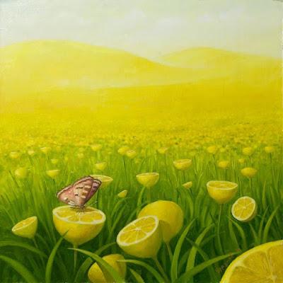 Limones en el campo