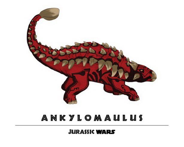 Darth Maul + Ankylosaurus = Ankylomaulus
