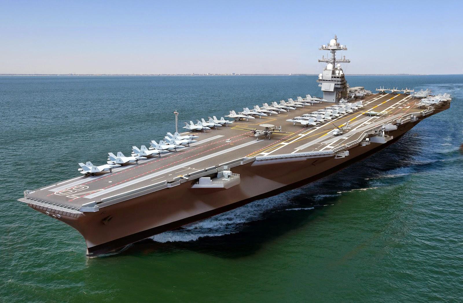 Why $14 billion aircraft carriers are a bad idea | NextBigFuture com