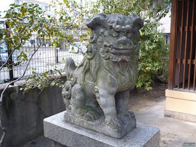 豊崎ゑびす狛犬