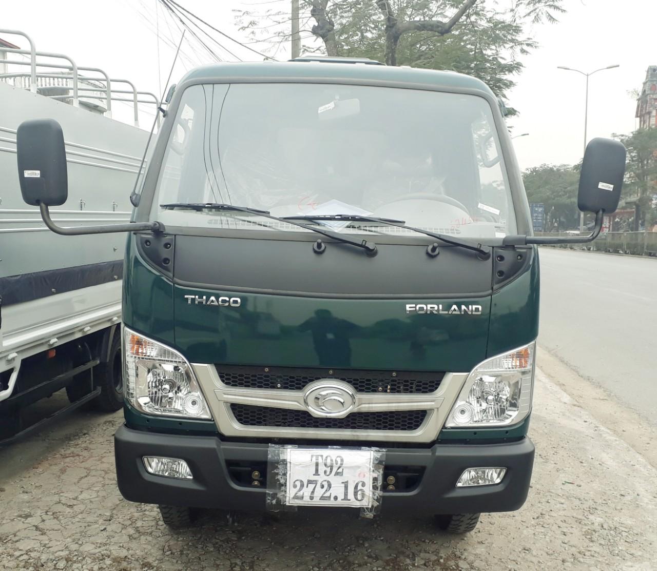 Cabin xe ben Trường Hải 2.5 tấn Thaco Fld250D tại Hải Phòng kiểu mới