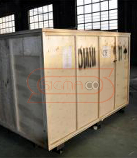 Packing OMNI CNC Router 1212