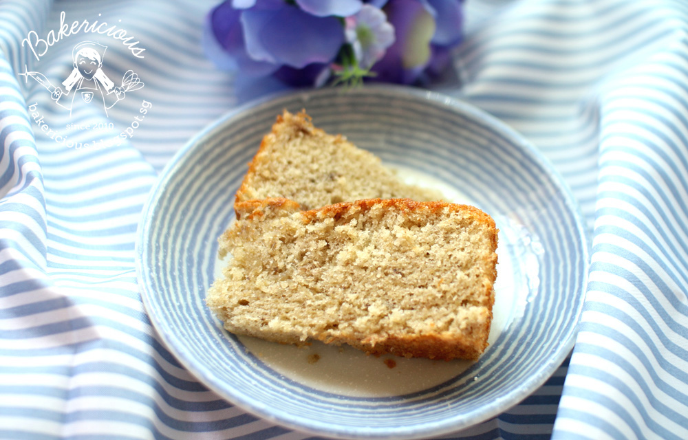 Banana Sponge Cake Richard Goh