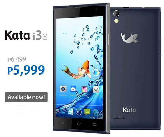 [PRICE DROP] Kata i3s now Php5,999 only!