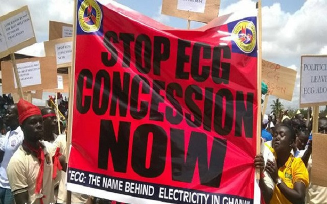 MiDA directed to halt privatisation of ECG