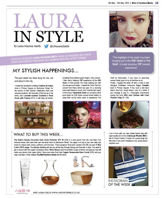 Laura Pearson-Smlth Glasgow News Column