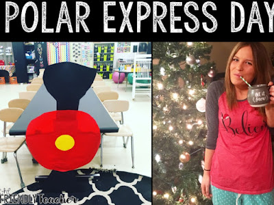 Polar Express Day Ideas and Freebie