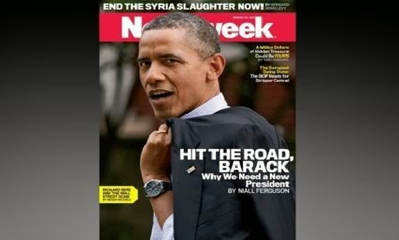 newsweek obama article matt patterson