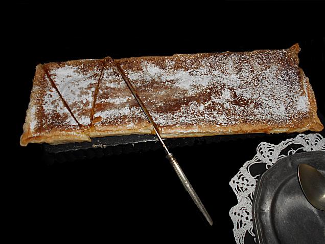 tarte de feijao branco