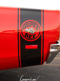 Dodge Super Bee Six Pack Trunk Stripe