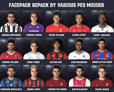 PES 2017 Repack Faces by Various Modder