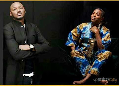 Femi Kuti Lambasts 2Face Over Planned Protest in new Video (Watch here)
