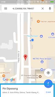 cara menambah tempat di google maps