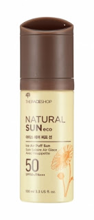 The Face Shop Natural Sun Ice Air Puff Sun