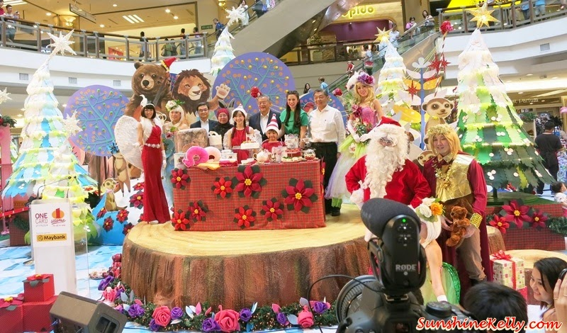 A Rustic Woodland Christmas, Love & Joy, 1 Utama, Christmas 2014
