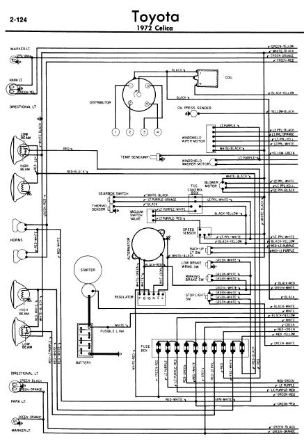 toyota celica 1982 wiring diagrams online manual sharing
