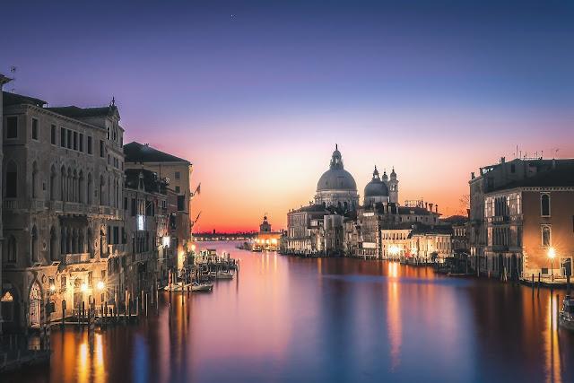 Venezia al tramonto