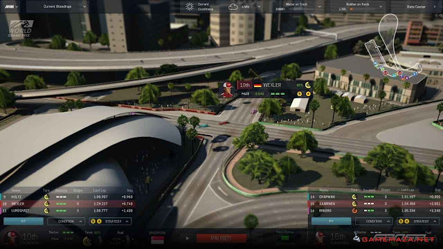 Motorsport Manager Gameplay Screenshot 1