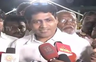 Deepa's Husband Madhavan's Press Meet at Jayalalithaa Memorial | Thanthi Tv