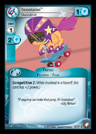 My Little Pony Scootaloo, Daredevil Equestrian Odysseys CCG Card