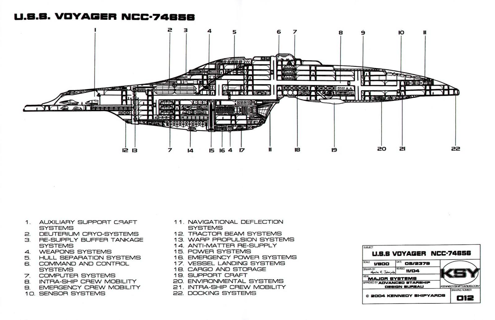 star trek engineering schematics