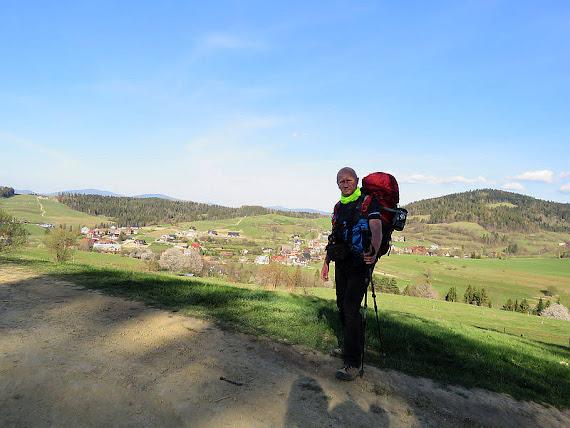 Nad doliną potoku Słonka