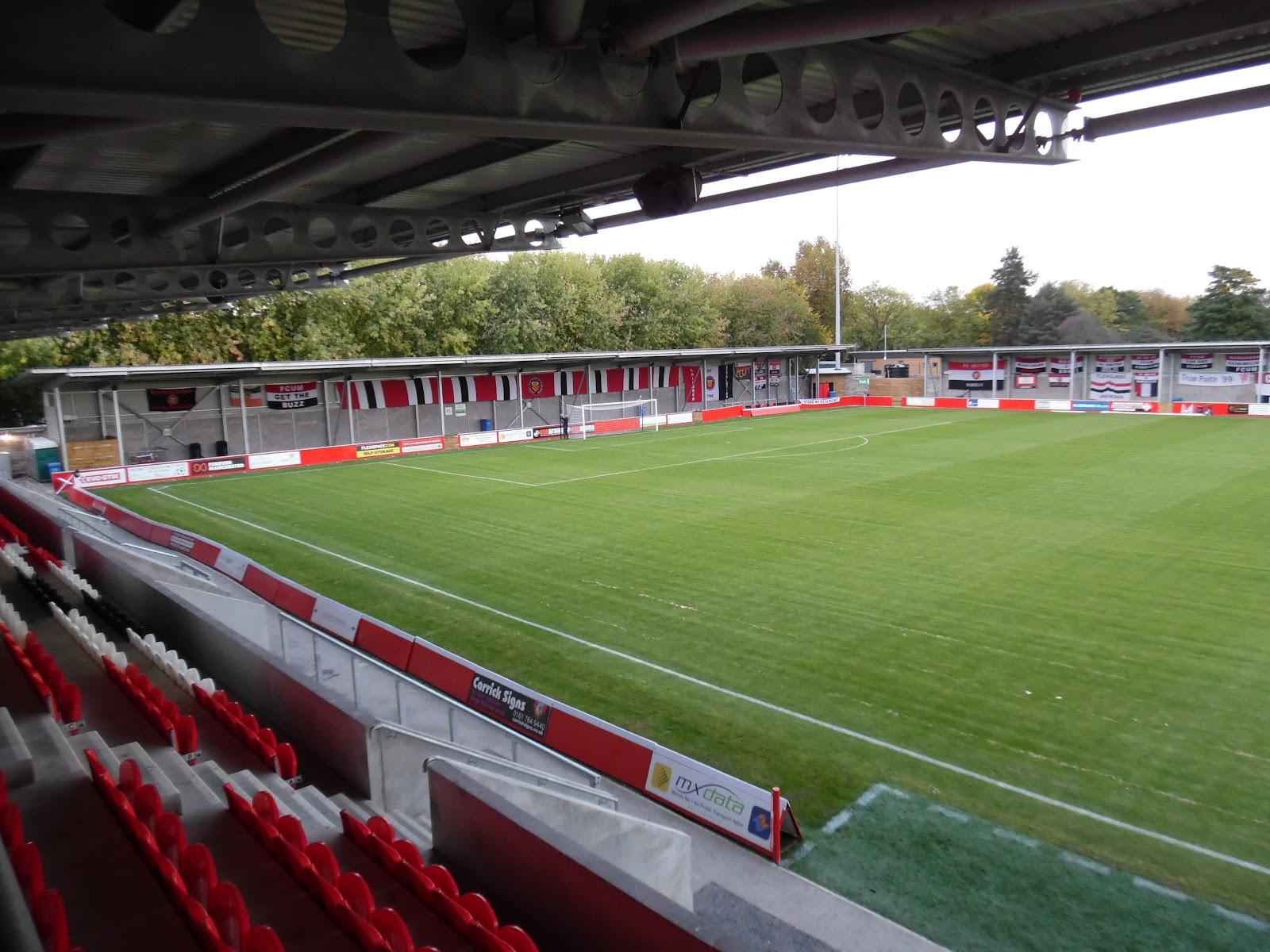 Broadhurst Park Stadium F C U M Football Tripper