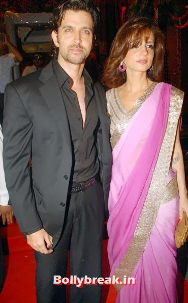 Hrithik Roshan and Sussanne, Hrithik and Sussanne marriage in pictures