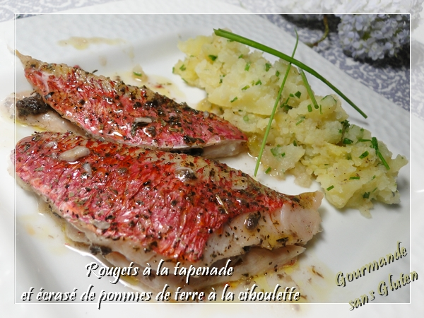 Filets de rouget à la tapenade