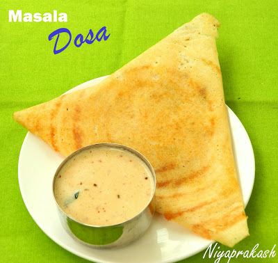 Niya's World: Masala Dosa